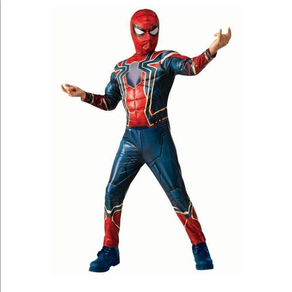 MARVEL IRON-SPIDER-MAN CHILD COSTUME